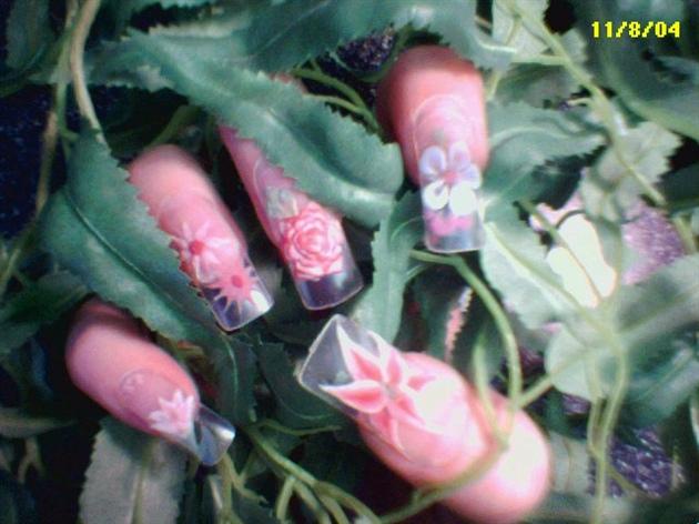 3-D flowers