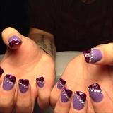 Bling Purple Leopard Print