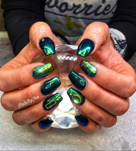 St Paddy's Nails