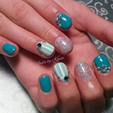 Teal and Pearl