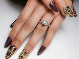 Nail art gallery nail art oxblood amp prinsesfo Gallery