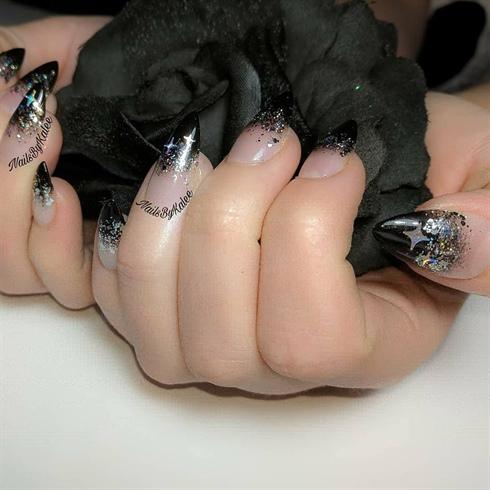 Goth Girl Nails