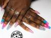 Cotton Candy Unicorn Nails