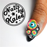 candyball eyeball nails
