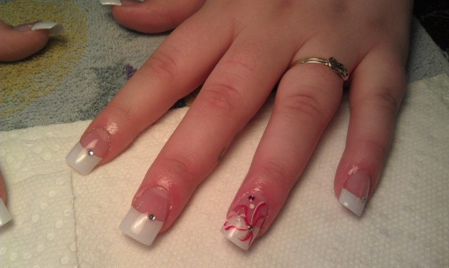 Valentine Wedding Nails