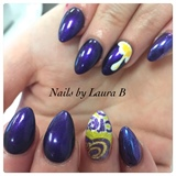 Easter Cream Egg Nails
