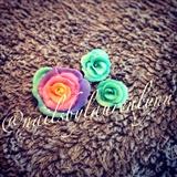Hand Made Acrylic Roses