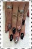 Black & Sliver