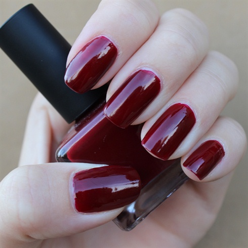 Wine Red Nails Nail Art Gallery
