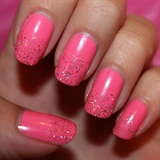 Breast Cancer Pink Nails