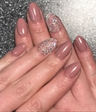 Gel Polish And Swarovski