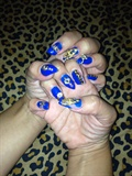 Blue Pointy