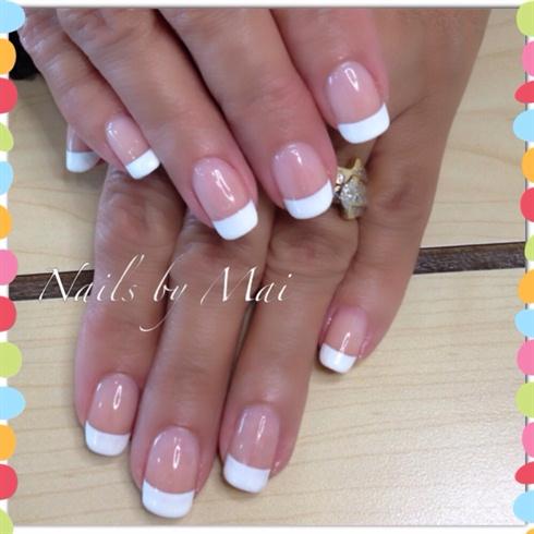 French Shellac Manicure