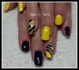 purple and yellow flashback