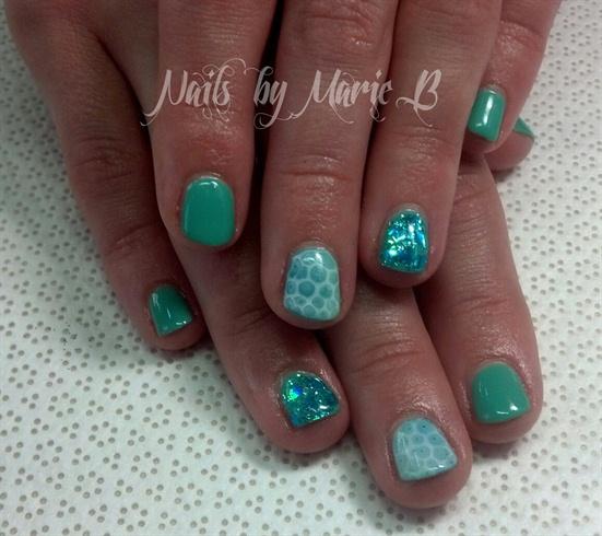 Aqua Nail Art: Nail Art Gallery