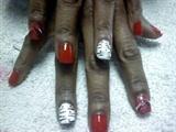 Black,White,Red