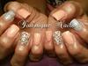 Peach Silver Swarovski And Pearls