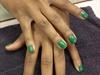 """ Basic Nail Manicure w | Green """