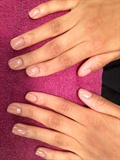 """ Basic Nail Manicure w | Nude """