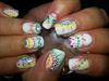 Summer Dot Nail Art
