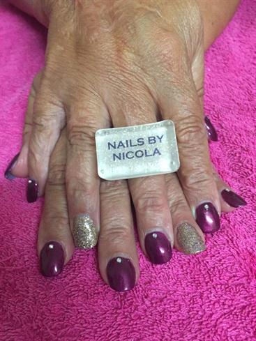 Elegant Party Nails