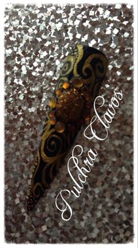 Pulchra Clavos Black 'n' Gold