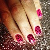 Opi Pink n Spots