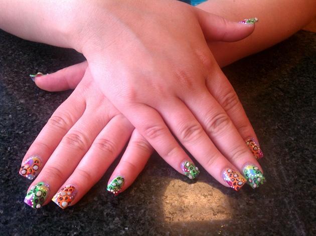 Glow Nails pt.1