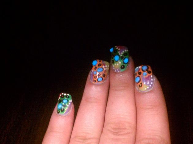 Glow Nails pt.2