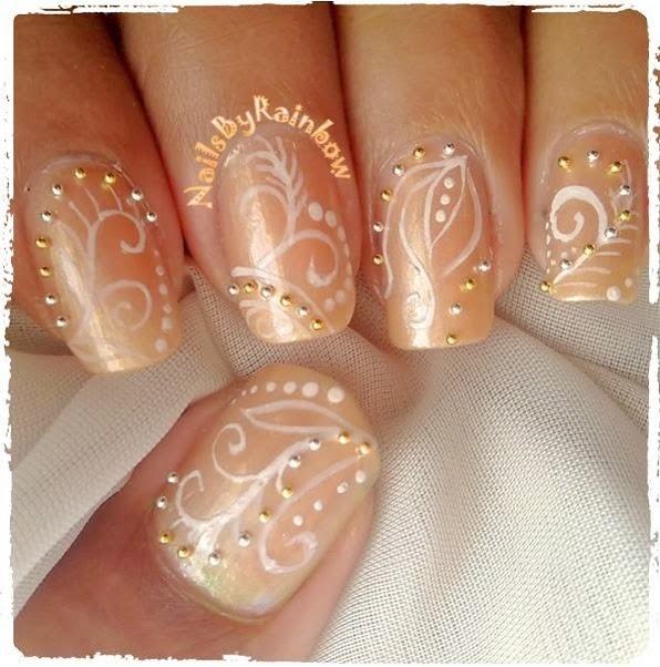 Bridal/prom Nails - Nail Art Gallery