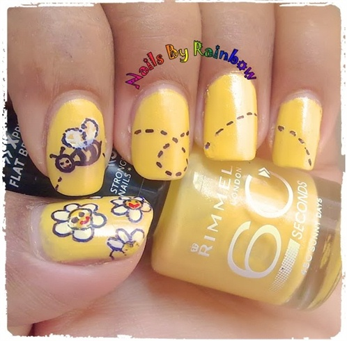 Honey Bee Nails Nail Art Gallery