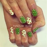 Roses & Polka Dots