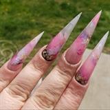 Marbled Acrylic Stilettos