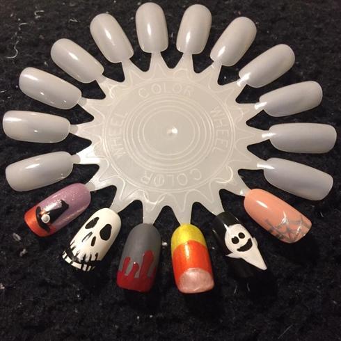 Halloween Nail Wheel