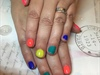 80's Theme Nails