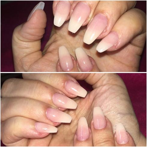Polydip Nails