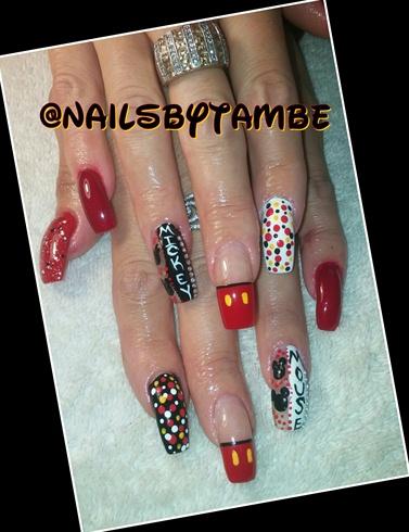 acrylic square shaped nails