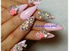 gelish, 3d, blings