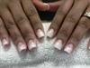 Peekaboo Pink French Manicure