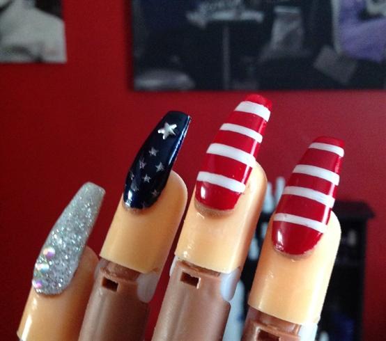 Flag nails