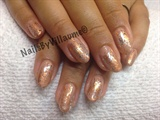 Shellac with foil