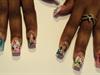 water nails