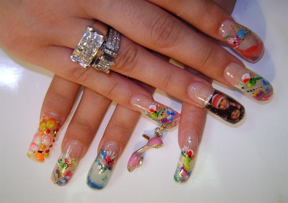 water nails - Nail Art Gallery