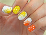Sunburst Nails