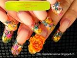 fleurs séchėes encapsulėes
