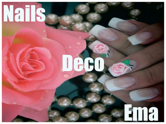 roses 3D acryl bicolores
