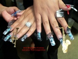 Nail Conpetition 2 place
