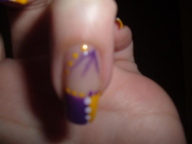 Purple/Yellow Design