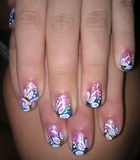 Gorgeous Flower Nails