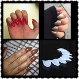 Talons Wide False Nail Tips